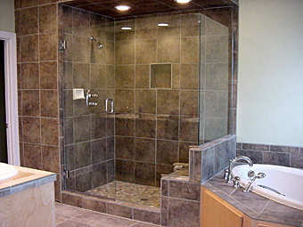 Euro Shower Enclosure with Seat