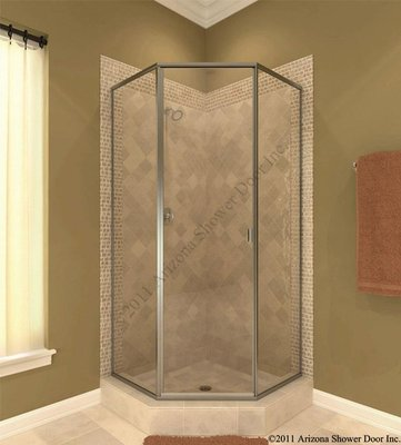 Shower door and panel all glass and showers for All glass shower