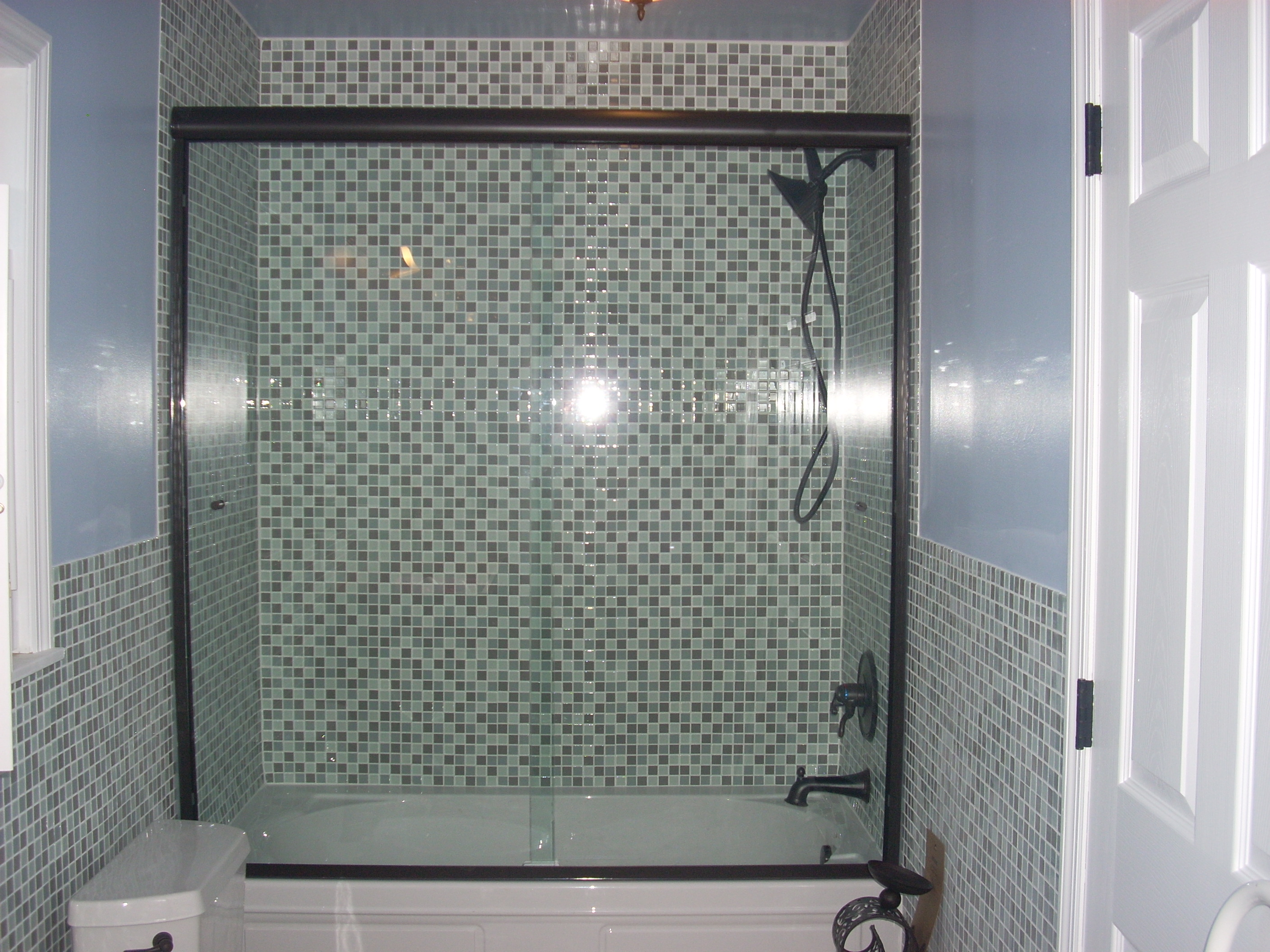 Shower sliders all glass and showers for All glass shower